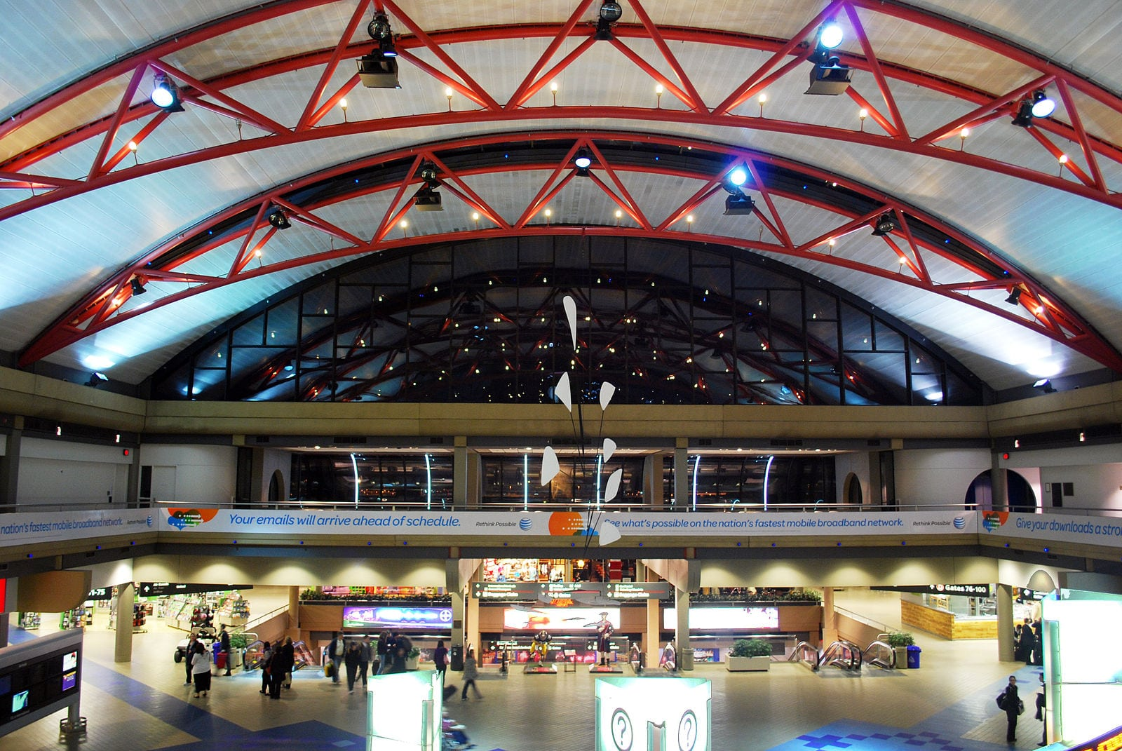 Pittsburgh International Airport Terminal